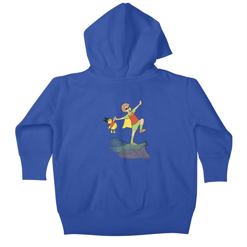 Robin Kids Baby Zip-Up Hoody by