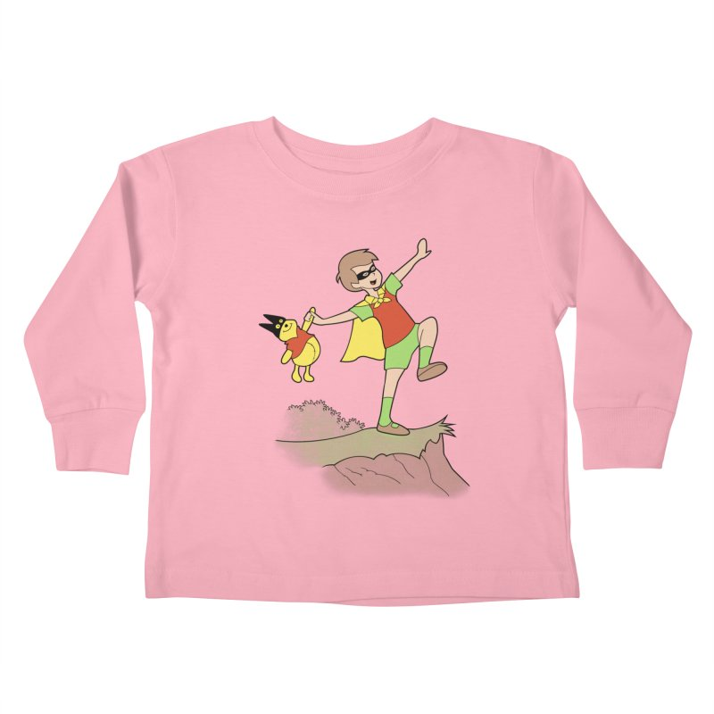 Robin Kids Toddler Longsleeve T-Shirt by