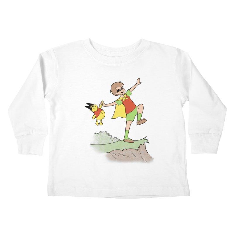 Robin Kids Toddler Longsleeve T-Shirt by