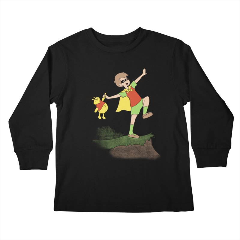 Robin Kids Longsleeve T-Shirt by