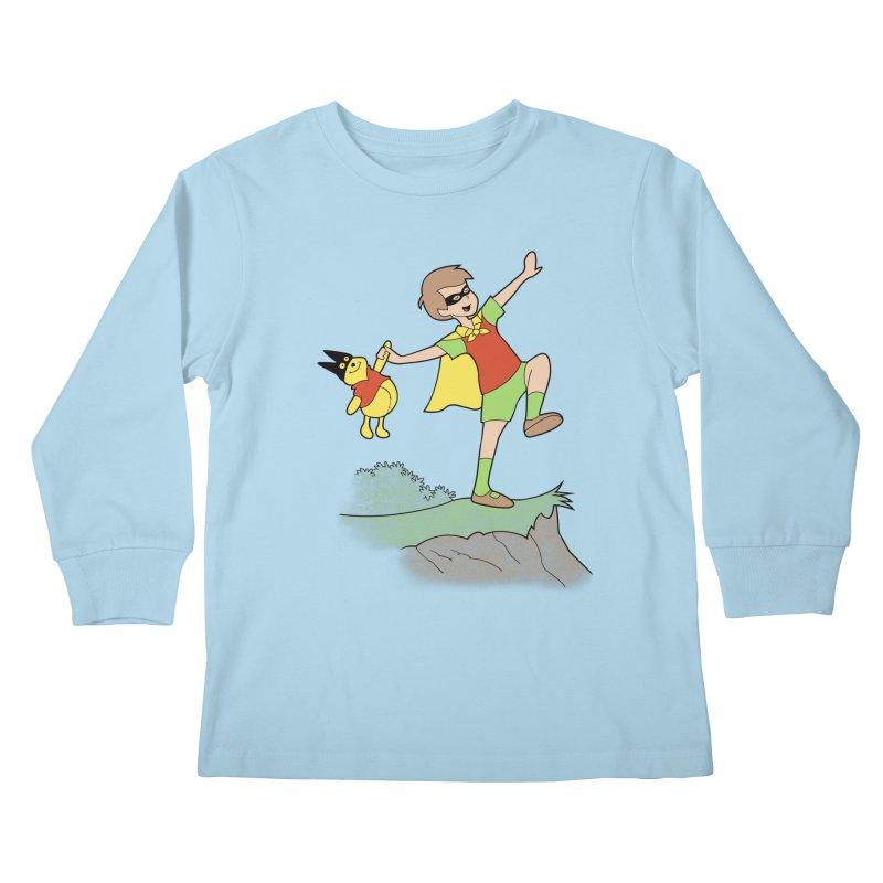Robin Kids Longsleeve T-Shirt by
