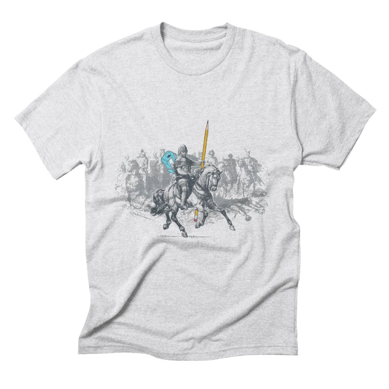 Pen Knight Men's Triblend T-Shirt by