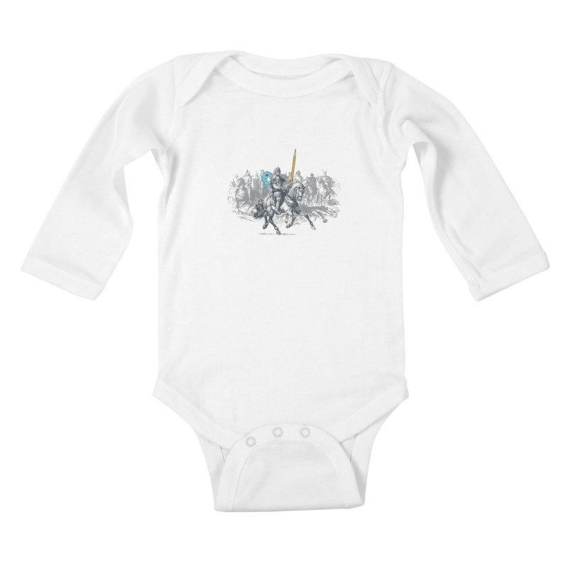 Pen Knight Kids Baby Longsleeve Bodysuit by