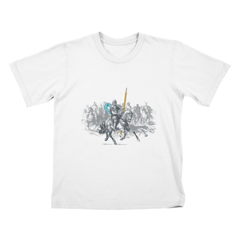 Pen Knight Kids T-Shirt by
