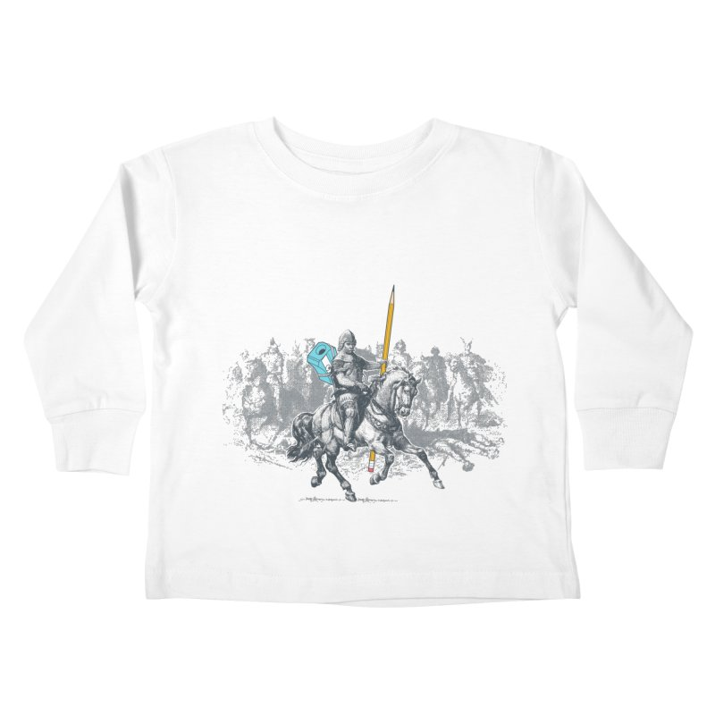 Pen Knight Kids Toddler Longsleeve T-Shirt by