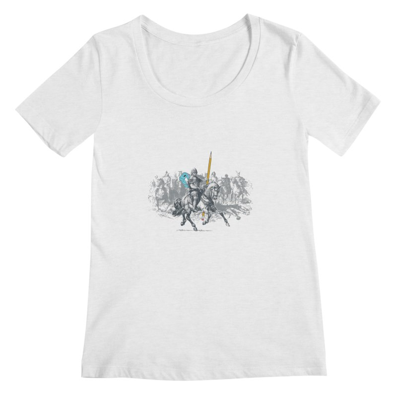 Pen Knight Women's Scoopneck by