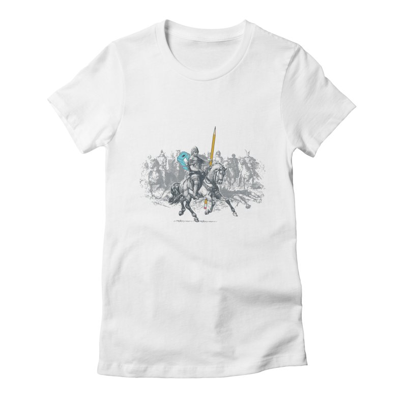 Pen Knight Women's Fitted T-Shirt by