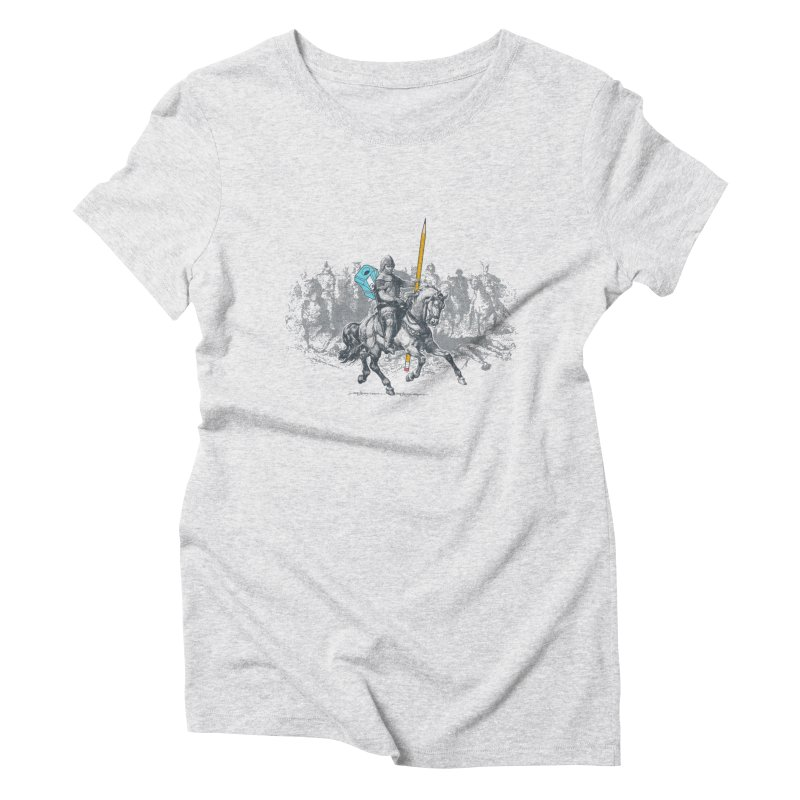 Pen Knight Women's Triblend T-Shirt by