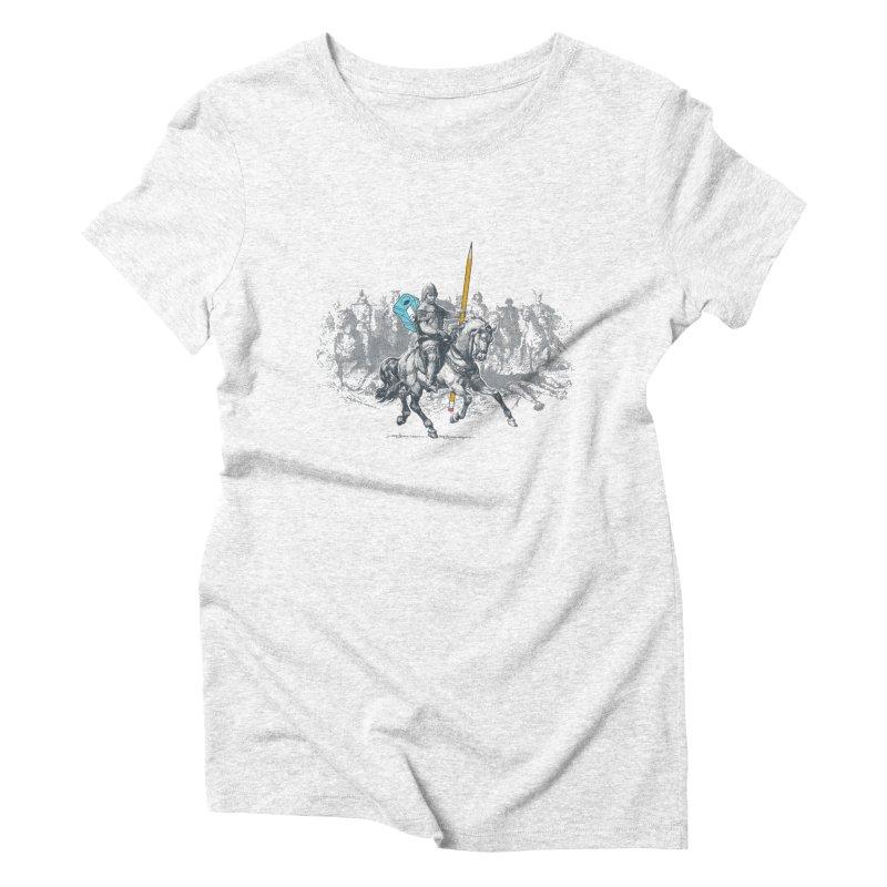 Pen Knight Women's Triblend T-shirt by