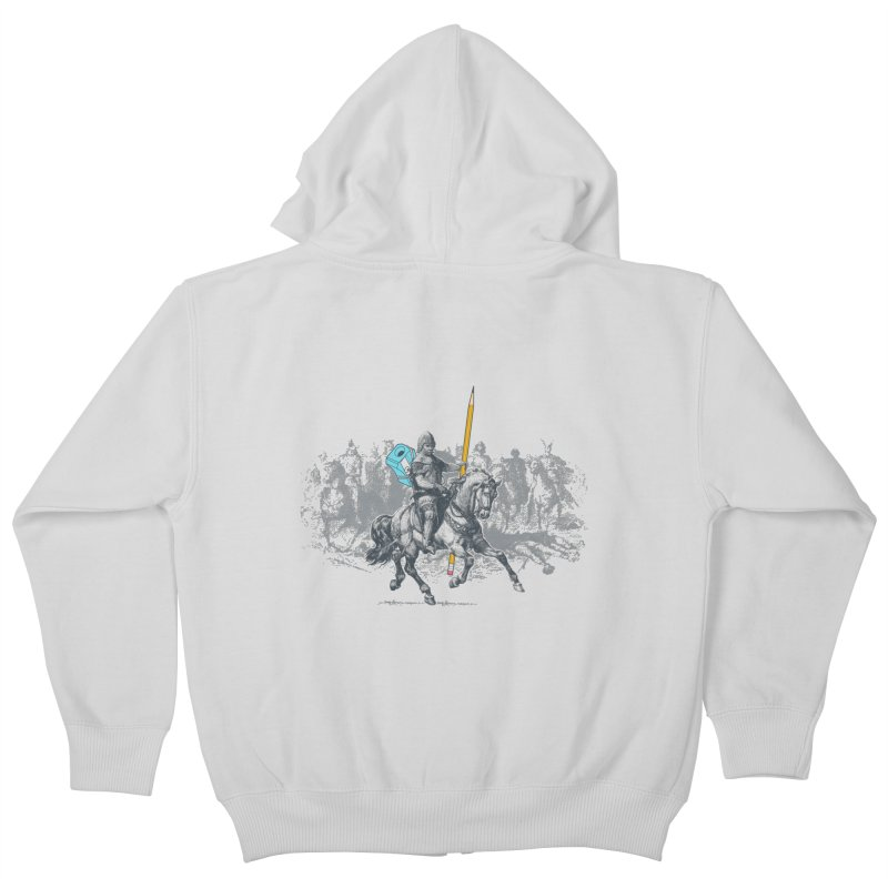 Pen Knight Kids Zip-Up Hoody by