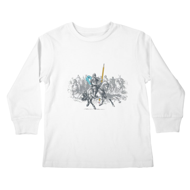 Pen Knight Kids Longsleeve T-Shirt by