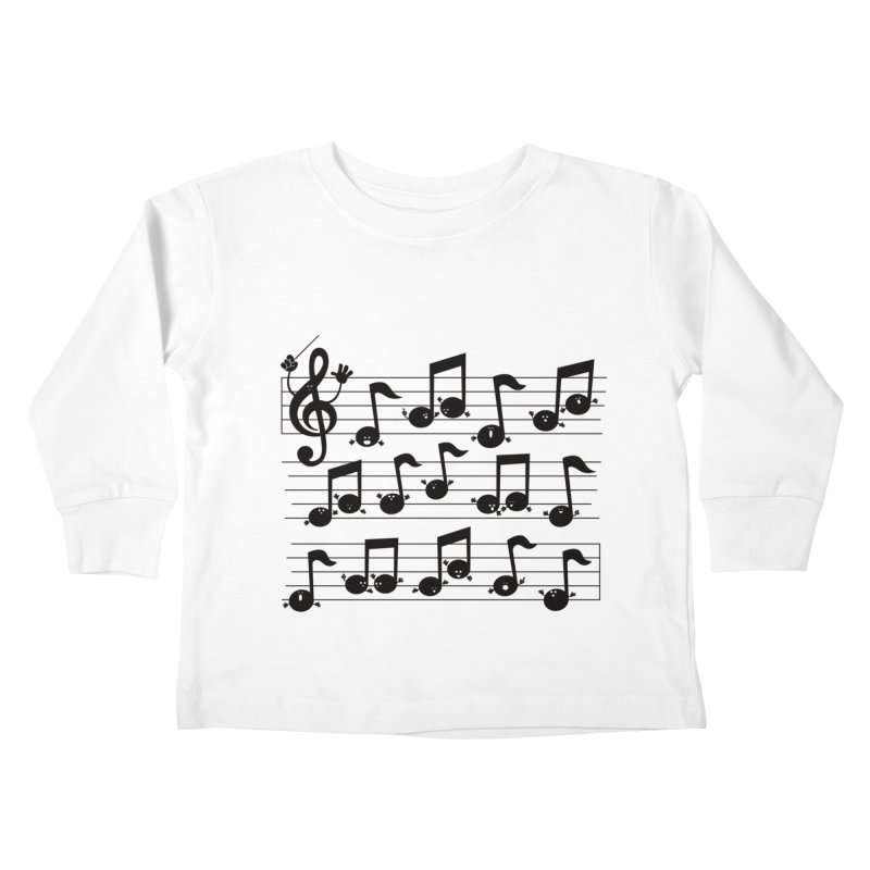 All Together Now Kids Toddler Longsleeve T-Shirt by