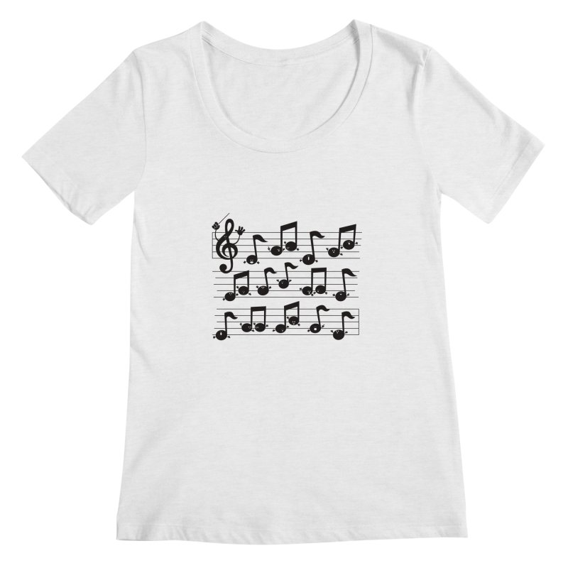 All Together Now Women's Scoopneck by