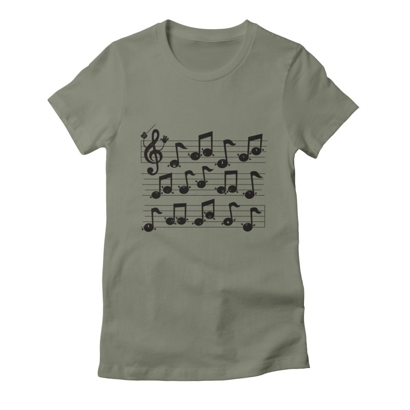All Together Now Women's Fitted T-Shirt by