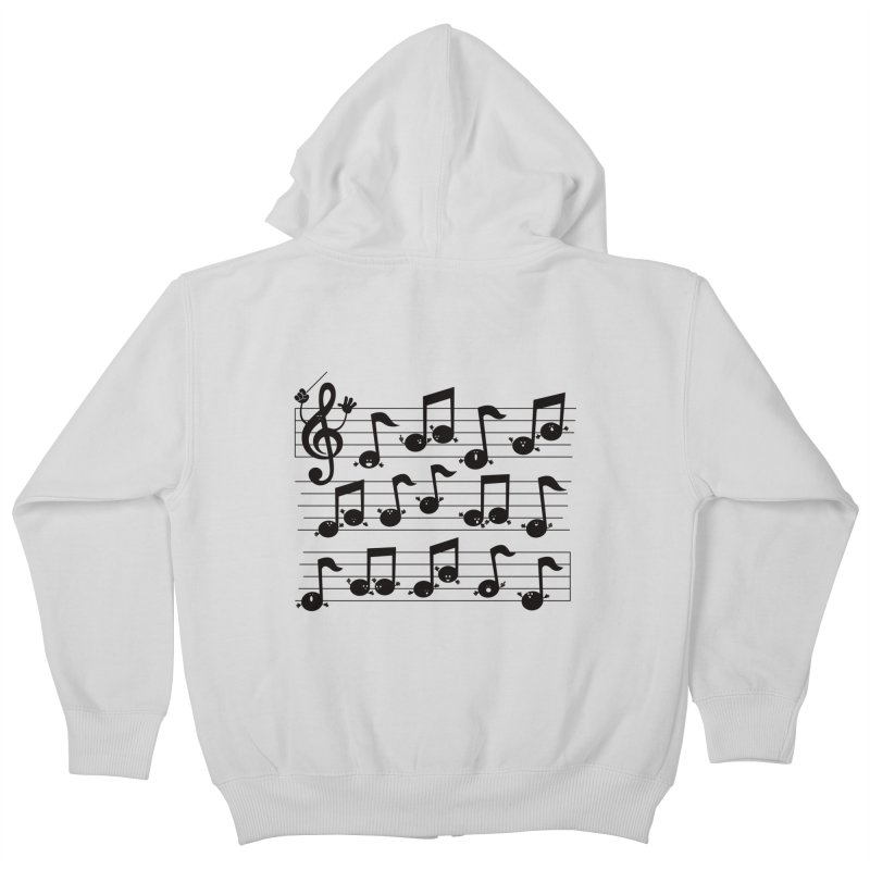 All Together Now Kids Zip-Up Hoody by