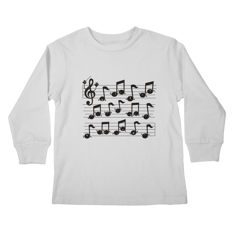 All Together Now Kids Longsleeve T-Shirt by