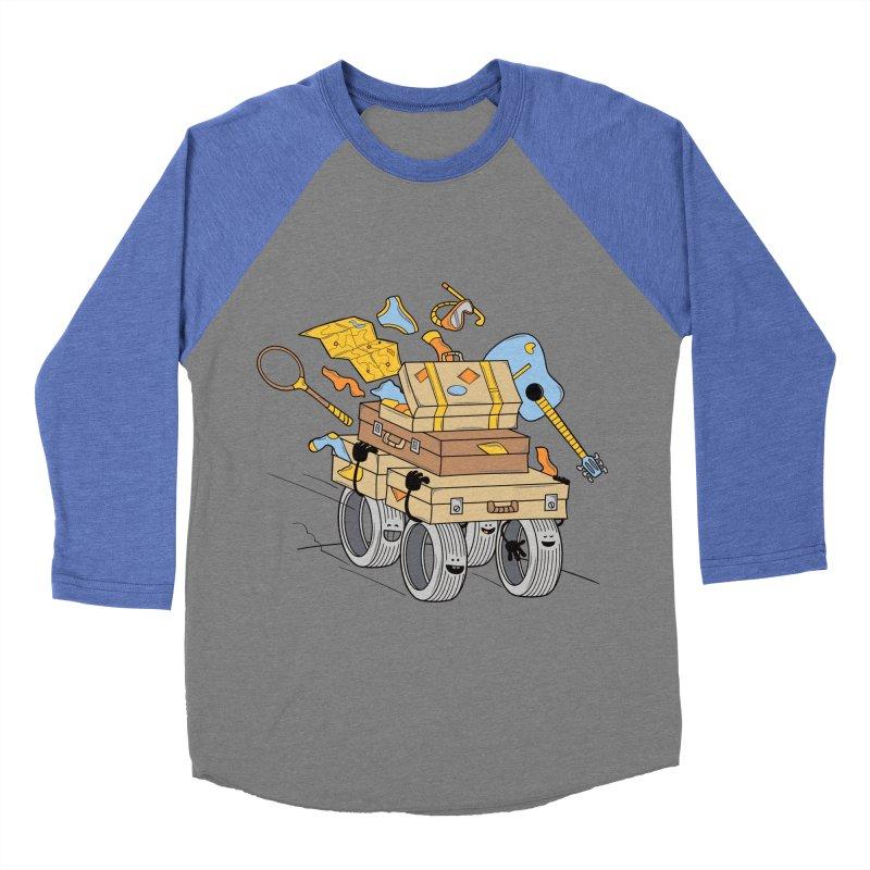 Road Trip Men's Baseball Triblend T-Shirt by