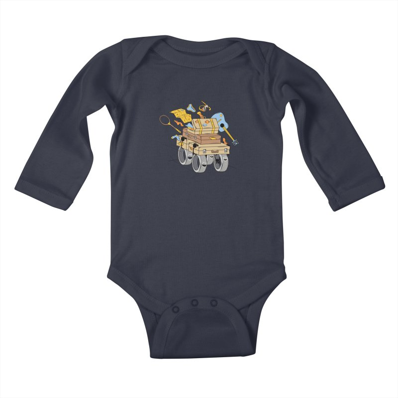 Road Trip Kids Baby Longsleeve Bodysuit by