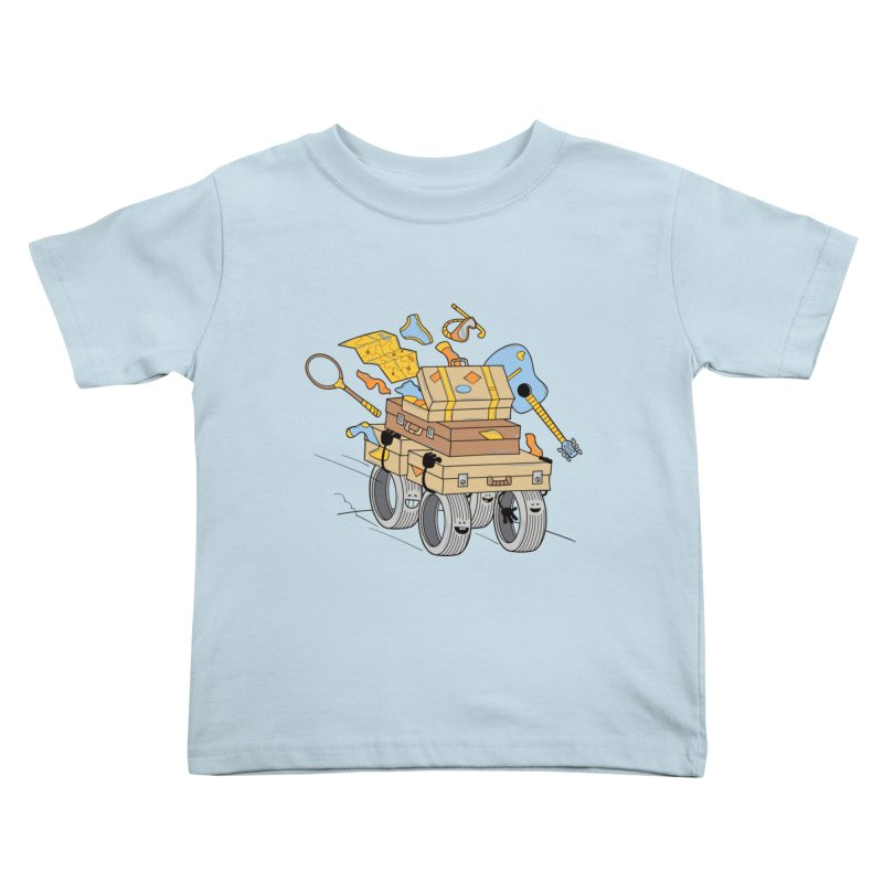 Road Trip Kids Toddler T-Shirt by
