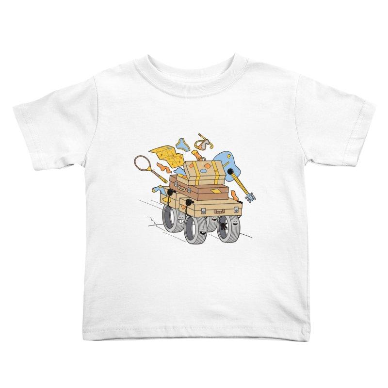 Road Trip Kids Toddler T-Shirt by