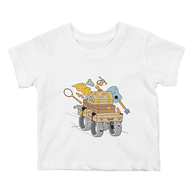 Road Trip Kids Baby T-Shirt by