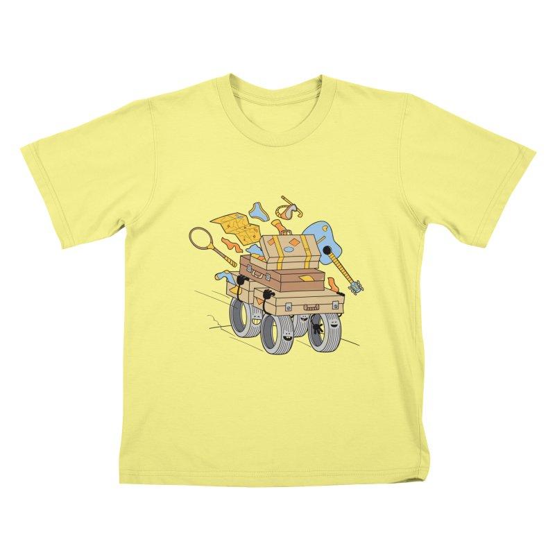 Road Trip Kids T-shirt by