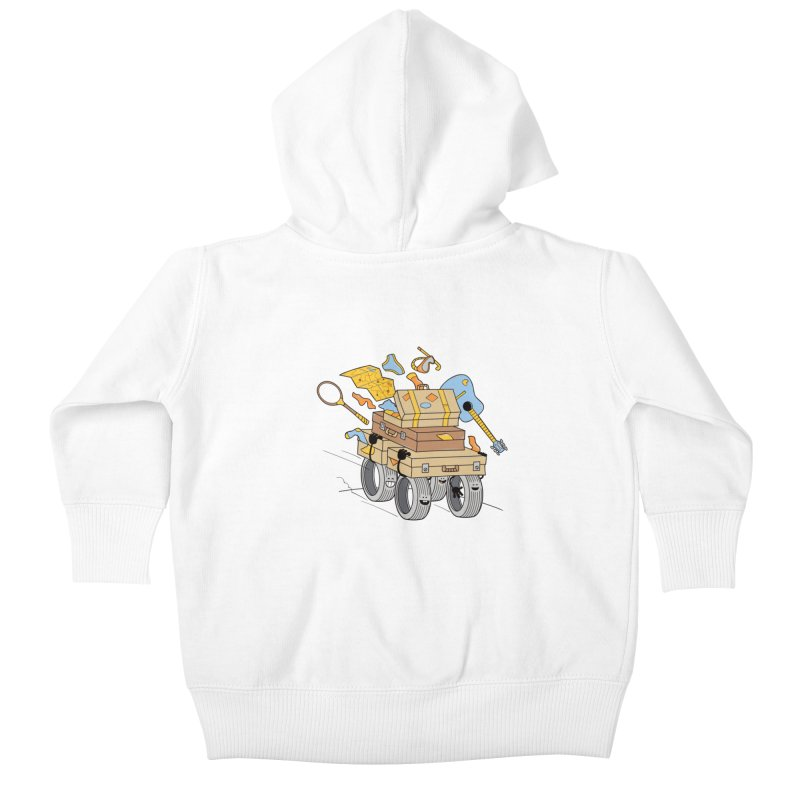 Road Trip Kids Baby Zip-Up Hoody by