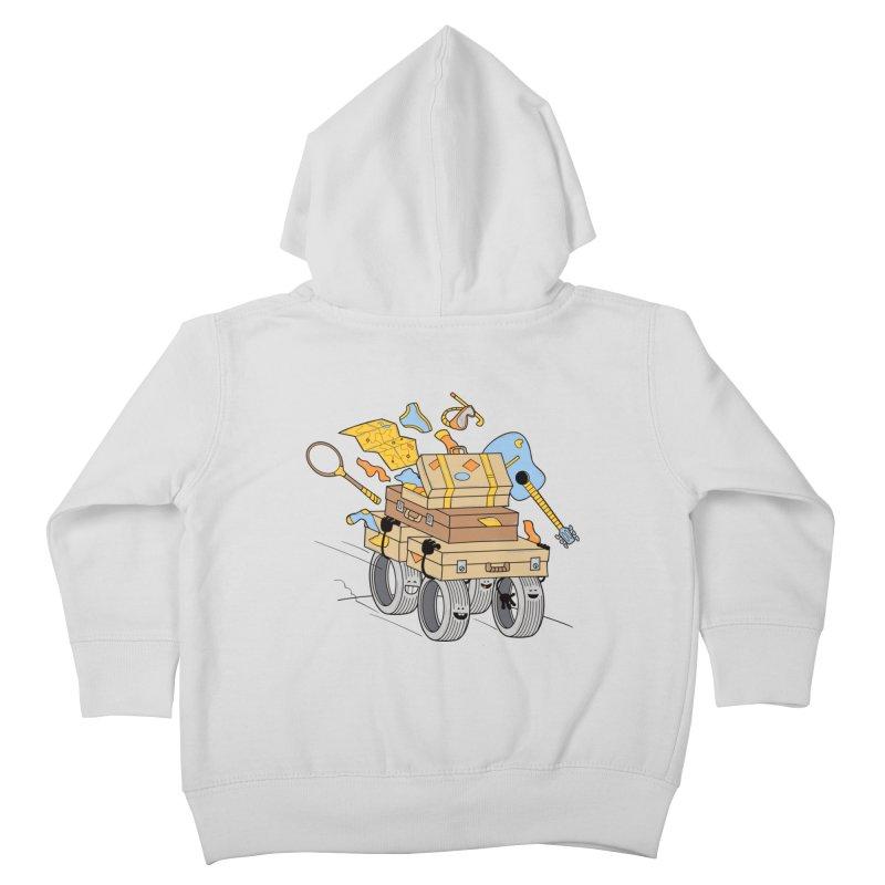Road Trip Kids Toddler Zip-Up Hoody by