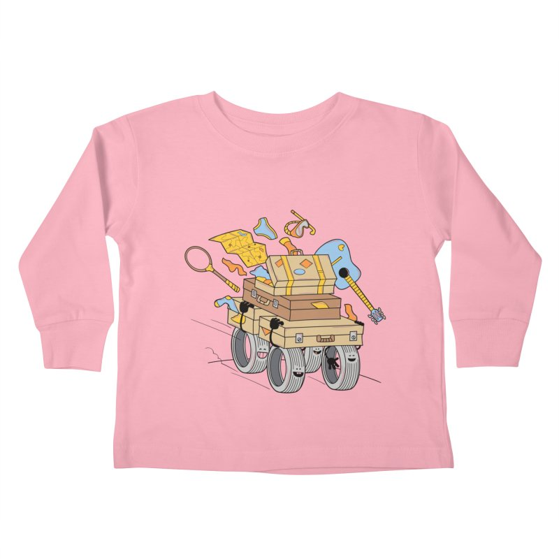 Road Trip Kids Toddler Longsleeve T-Shirt by
