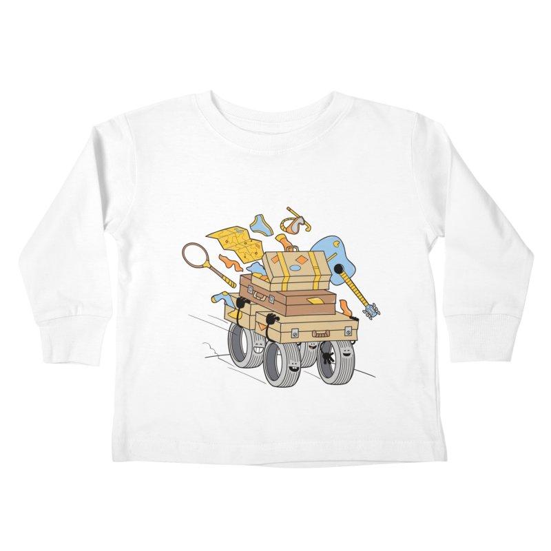 Road Trip Kids Toddler Longsleeve T-Shirt by