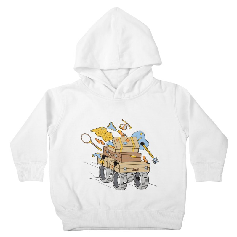 Road Trip Kids Toddler Pullover Hoody by