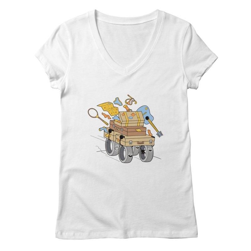 Road Trip Women's V-Neck by