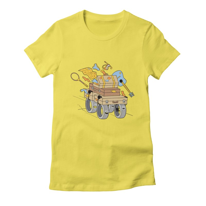 Road Trip Women's Fitted T-Shirt by
