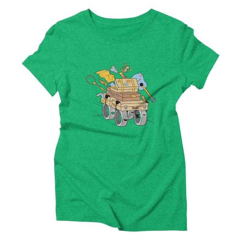 Road Trip Women's Triblend T-Shirt by