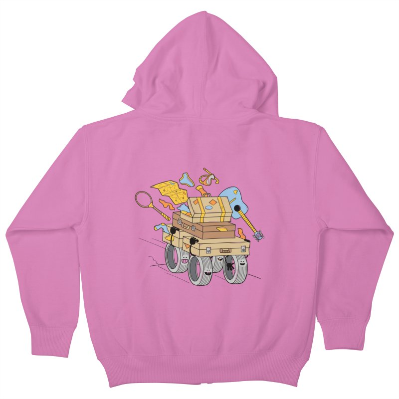 Road Trip Kids Zip-Up Hoody by