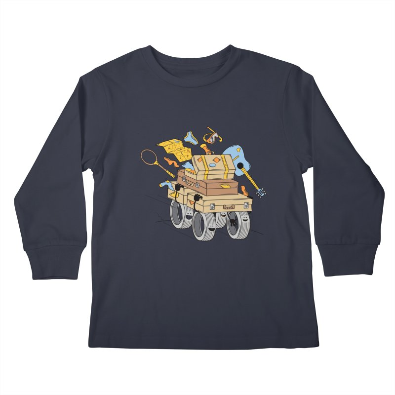 Road Trip Kids Longsleeve T-Shirt by