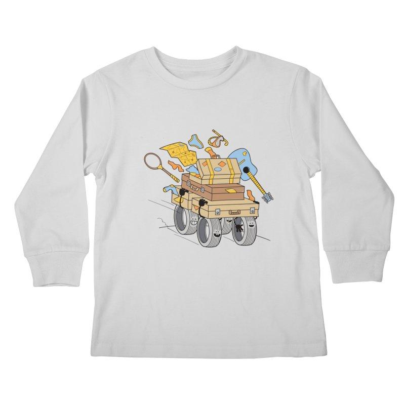 Road Trip Kids Longsleeve T-Shirt by