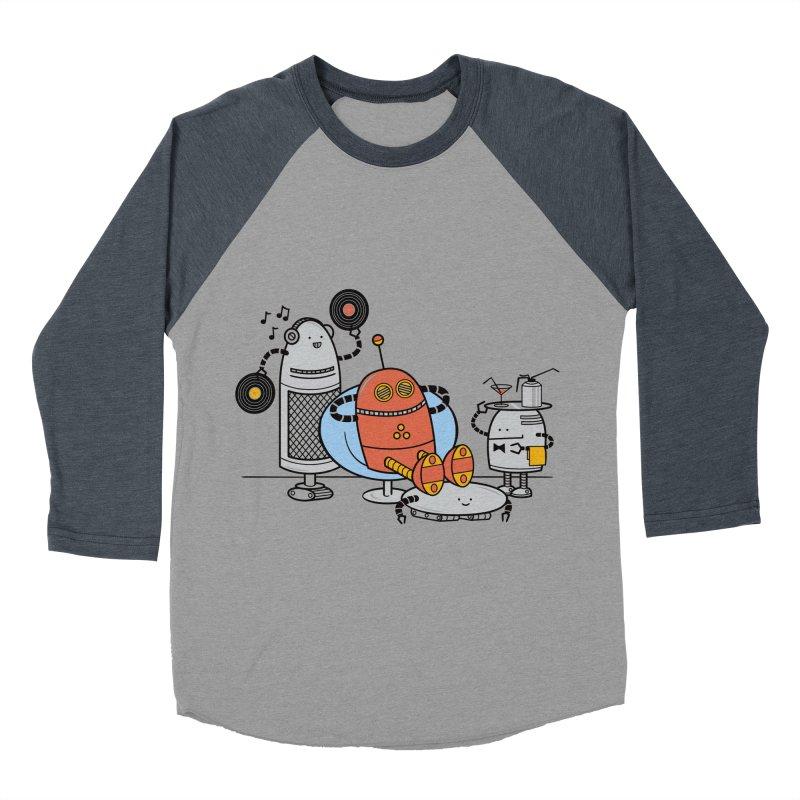 A Comfortable Future Men's Baseball Triblend T-Shirt by