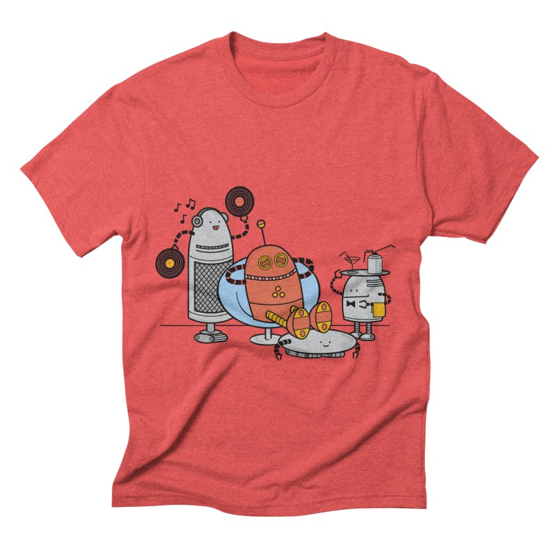 A Comfortable Future Men's Triblend T-shirt by