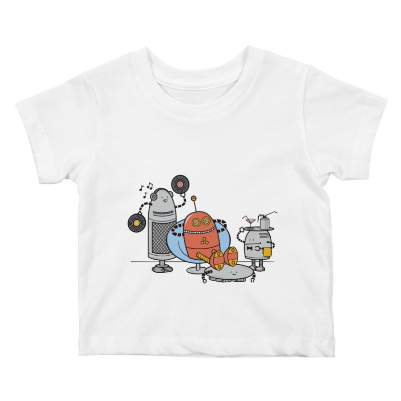 A Comfortable Future Kids Baby T-Shirt by