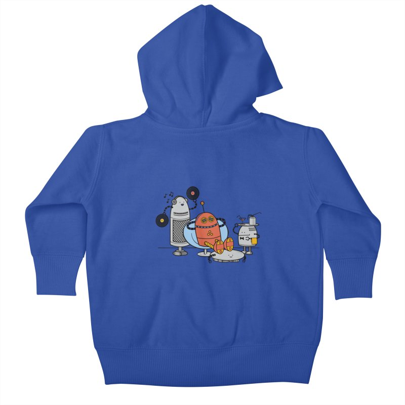 A Comfortable Future Kids Baby Zip-Up Hoody by