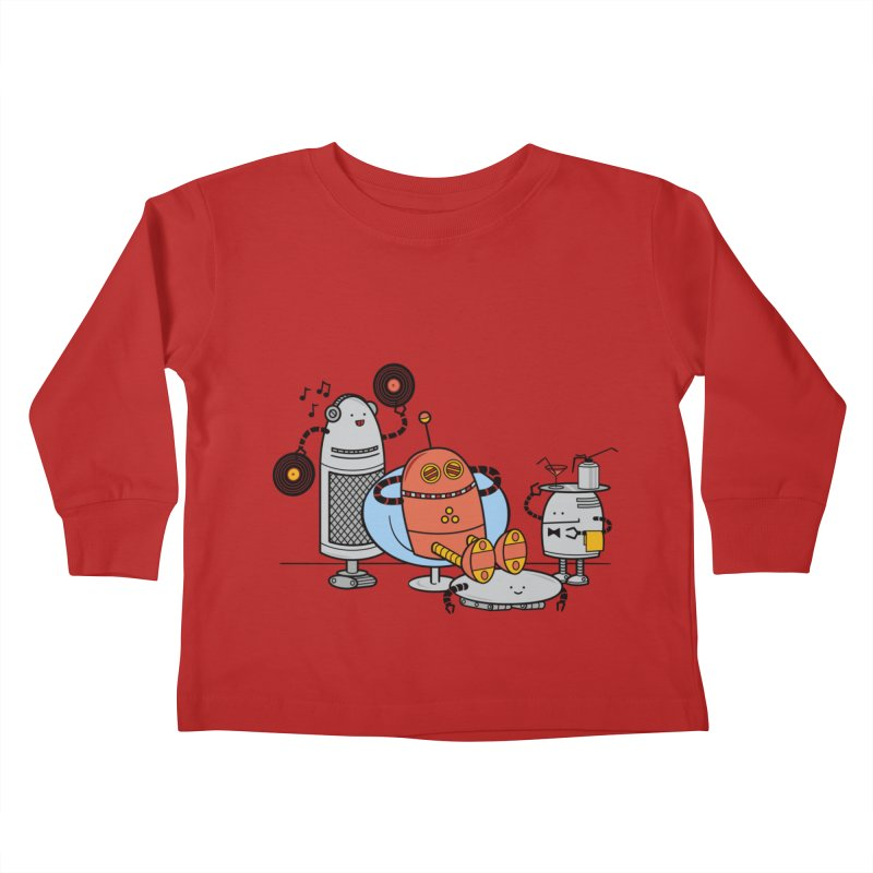 A Comfortable Future Kids Toddler Longsleeve T-Shirt by