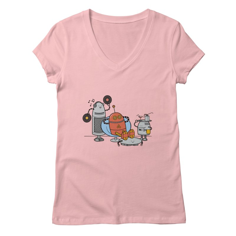 A Comfortable Future Women's V-Neck by