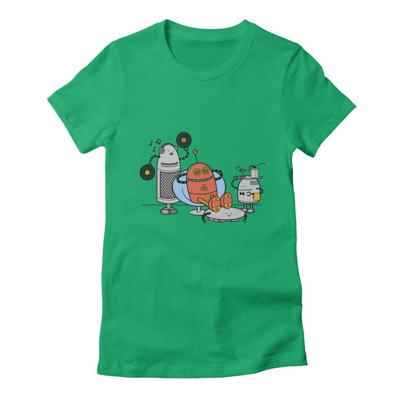 A Comfortable Future Women's Fitted T-Shirt by