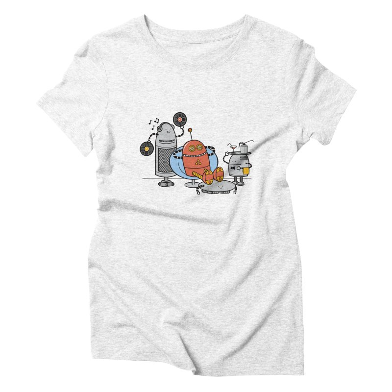 A Comfortable Future Women's Triblend T-shirt by