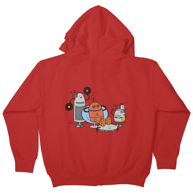 A Comfortable Future Kids Zip-Up Hoody by