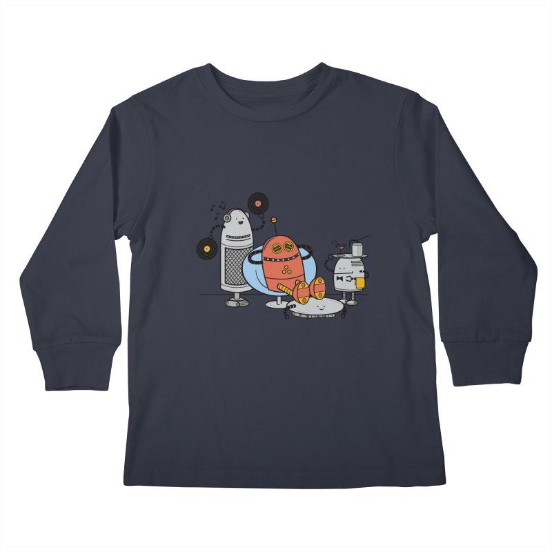 A Comfortable Future Kids Longsleeve T-Shirt by