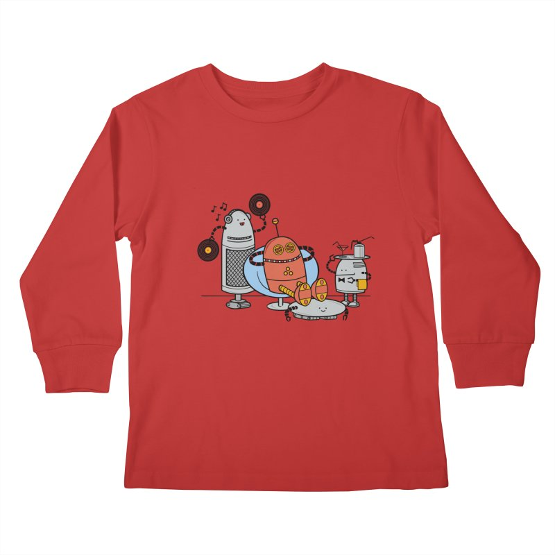 A Comfortable Future Kids Longsleeve T-Shirt by
