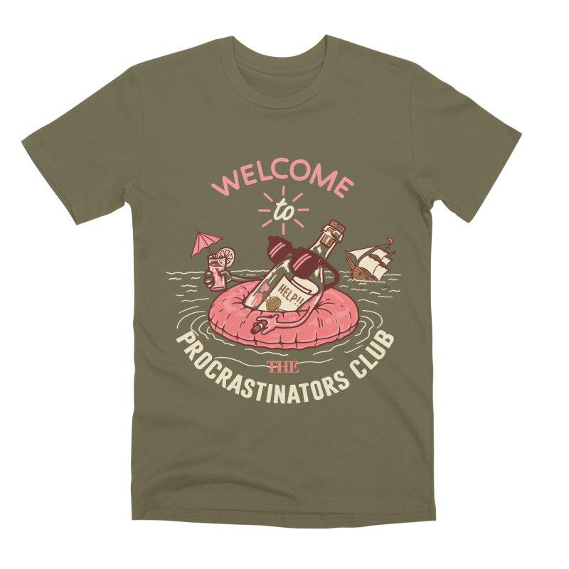 HELP! Men's Premium T-Shirt by gotoup's Artist Shop