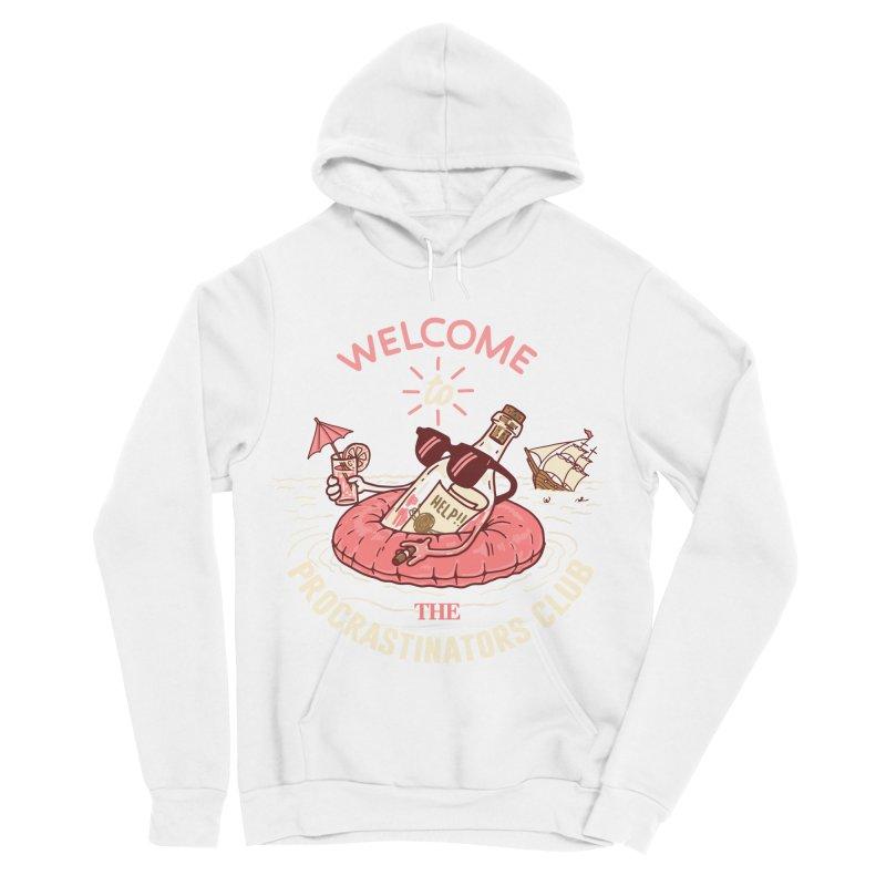 HELP! Women's Sponge Fleece Pullover Hoody by gotoup's Artist Shop